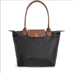 Longchamp Le Pliage Nylon Shoulder Bag Black